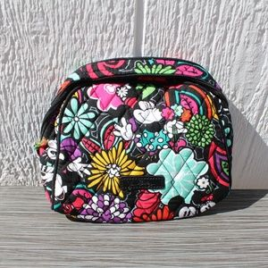Vera Bradley Disney Medium Cosmetic Magical Blooms